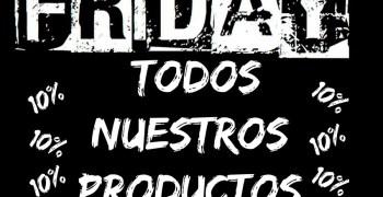 Black Friday en Hobby Macías - ¡10% de descuento en todo!