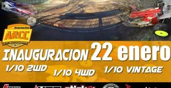 22 de Enero - Inauguración nuevo circuito 1/10 en Coslada