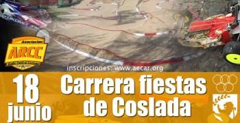 18 de Junio - Carrera Fiestas de Coslada en Club ARCC