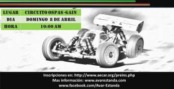 8 de Abril - Primera prueba social Euskadi 1/8 TT-E