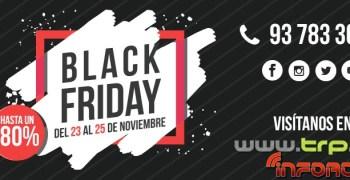 Black Friday en TRP, descuentos de hasta un 80% ¡No te los pierdas!
