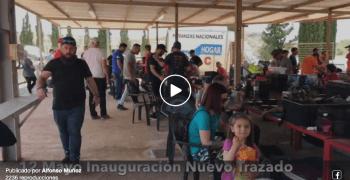 Video - Inauguración del nuevo trazado de Antas