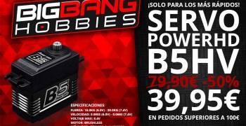 Servo Power HD al 50% en Big Bang Hobbies ¡Solo para los 5 primeros pedidos!