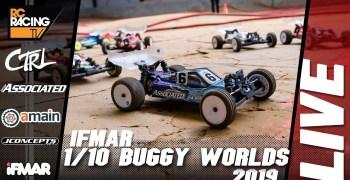 Video en directo - Mundial 1/10 2WD. Finales