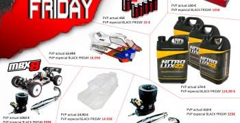Black Friday 2019 en Modelix Racing
