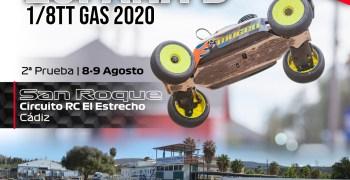 8 y 9 de Agosto - Segunda del Nacional B 1/8 TT Gas 2020