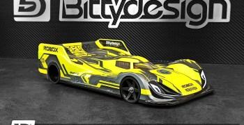 Bittydesign presenta Robox, su nueva carrocería para 1/12 Pan-Car
