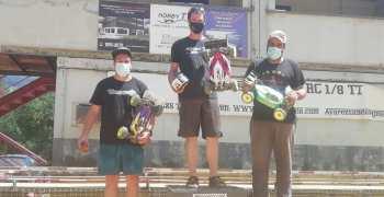 Crónica - Tercera prueba del campeonato de Euskadi 1/8 TT ECO