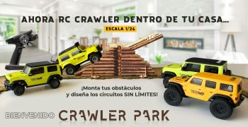 Modelspain presenta ToysWD, circuitos para crawler
