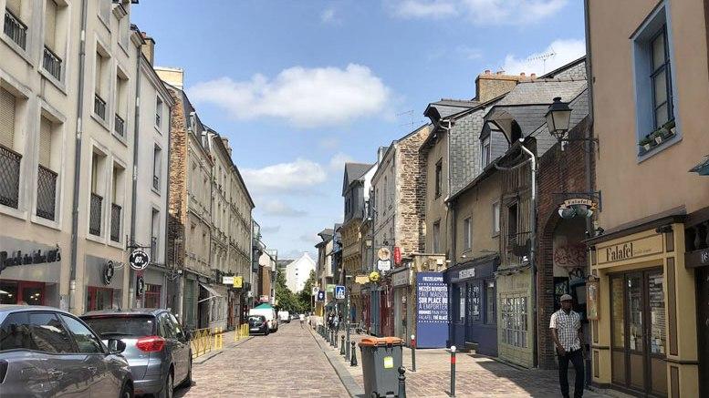 rue de saint-malo à Rennes