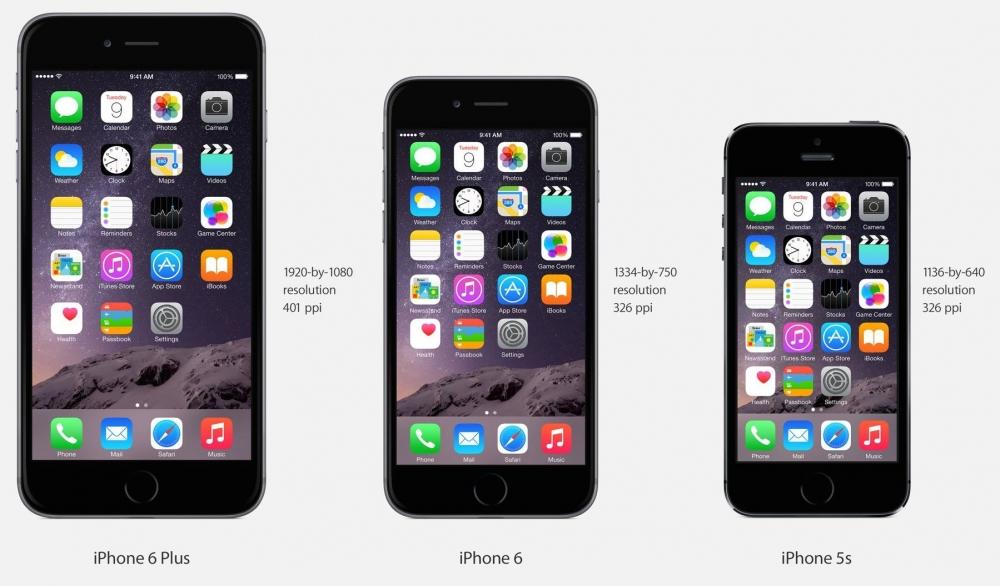 iPhone من 5 إلى 6 جيل