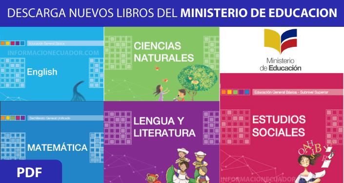 Libros del Ministerio de Educación Descargar 2020-2021 PDF
