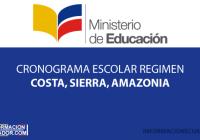 cronograma-escolar-regimen-costa-sierra-amazonia-informacionecuador-com-ministerio-de-educacion