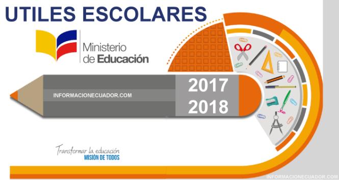 Utiles-escolares-escolar-2017-2018-informacionecuador