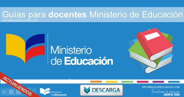 Guias Docentes 2019 2020 Ministerio Educacion Ecuador Descarga