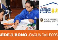 accede al bono joaquin gallegos lara