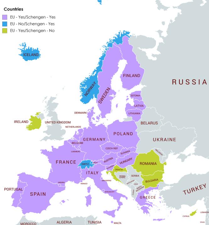 cuales-son-los-paises-que-necesitan visa-schengen