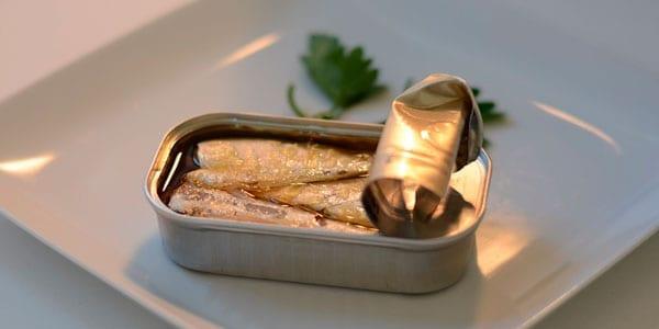 conservas de pescado o carne