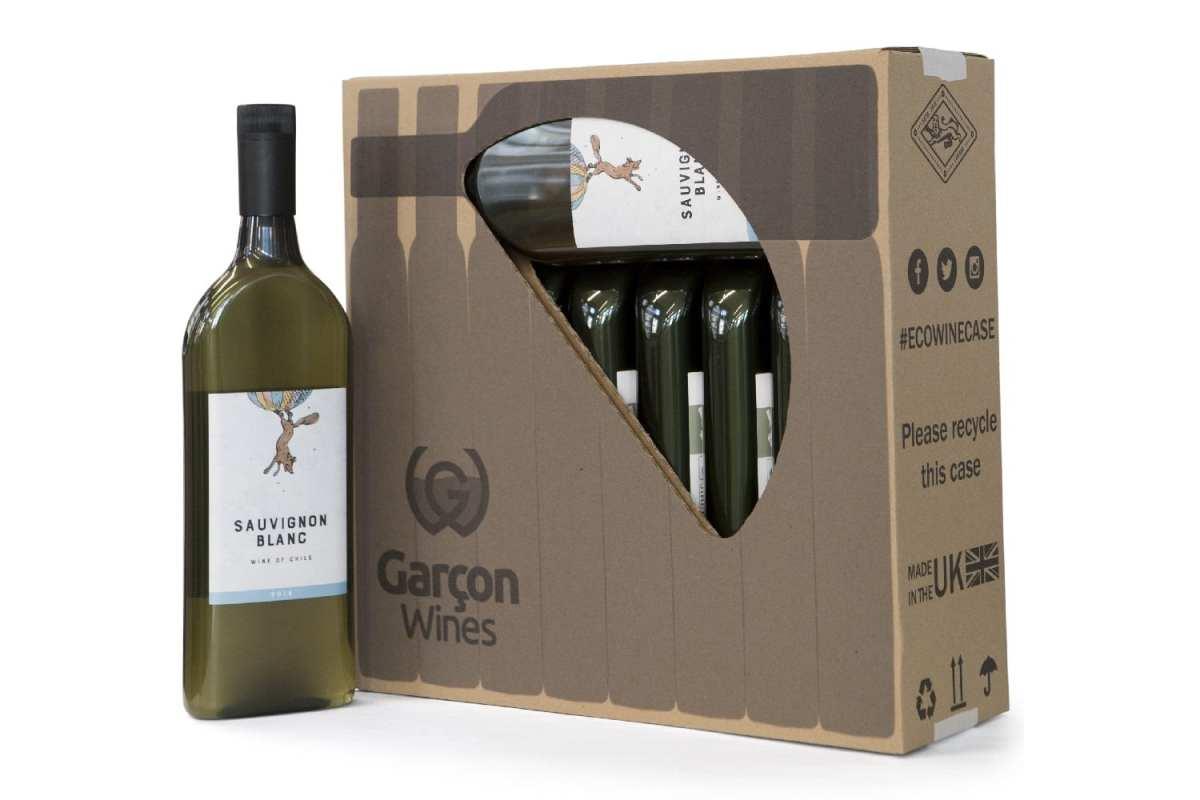 Garçon Wines y sus botellas planas