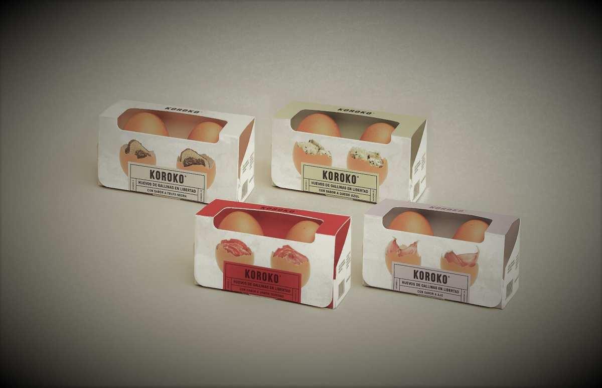 Huevos de sabores Koroko
