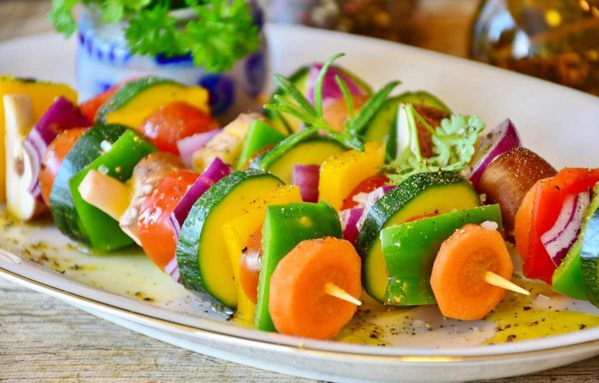verduras cocinadas o crudas