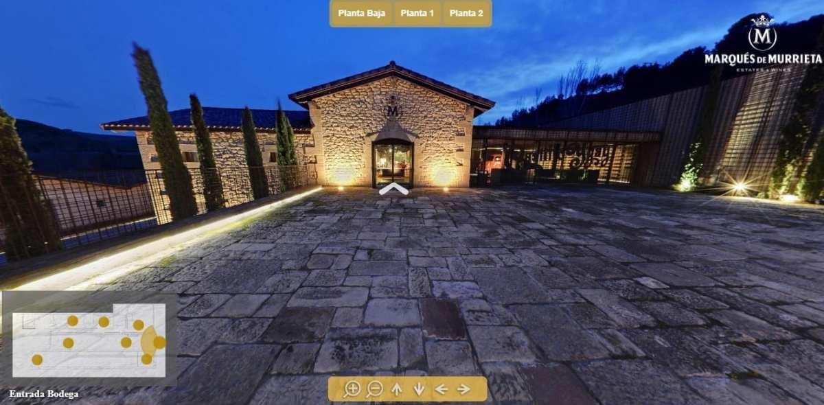 visitas virtuales a bodegas marques de murrieta