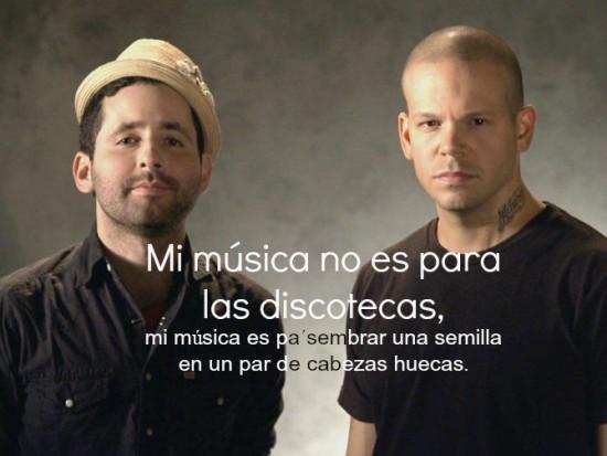 frases de Rene Perez canciones de Calle 13 (1)