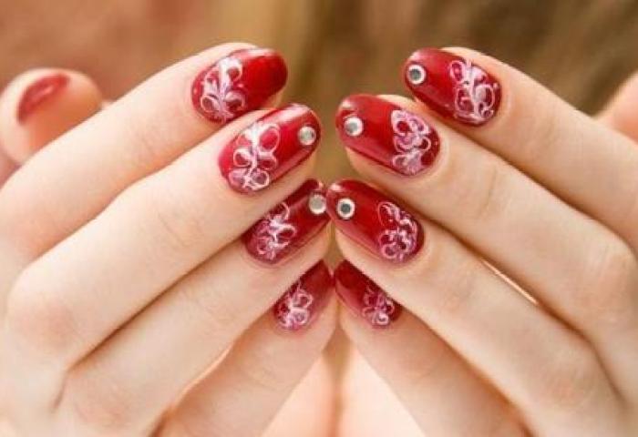 Decoración De Uñas Para San Valentín Con 78 Diseños Increibles