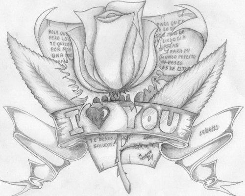 Dibujos Hechos A Lapiz Con Frases De Amor Frases Y Pensamientos