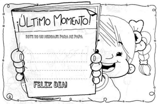 Dibujos infantiles del Día de la Familia para colorear – Frases y ...