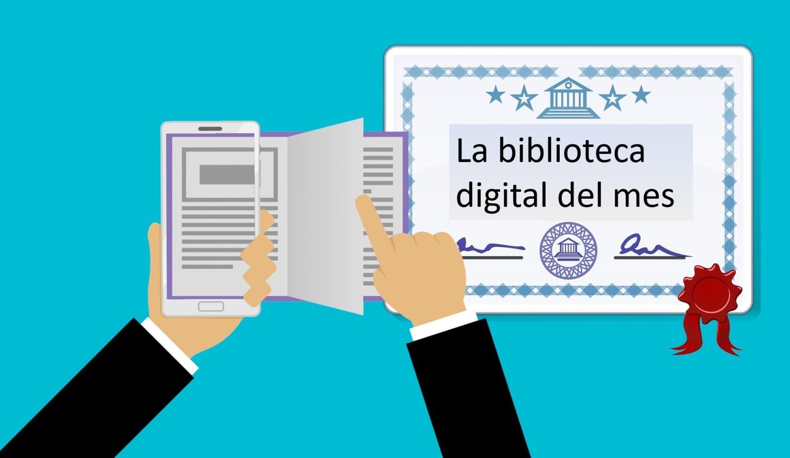 diploma a la biblioteca digital del mes