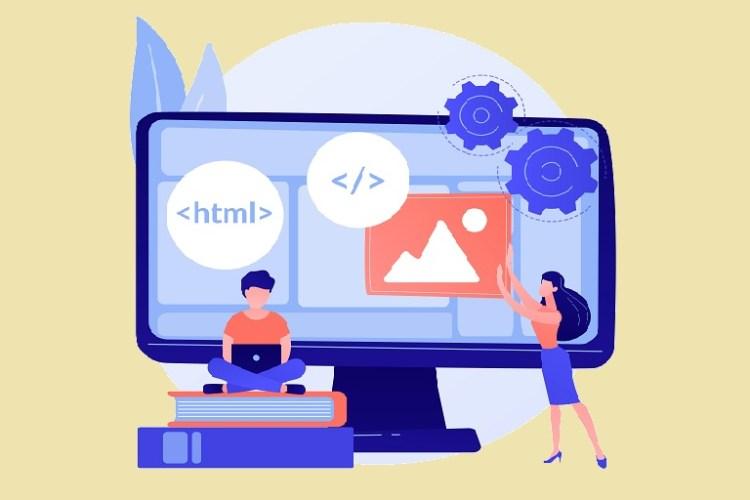 imagen que muestra personas diseñando un archivo digital