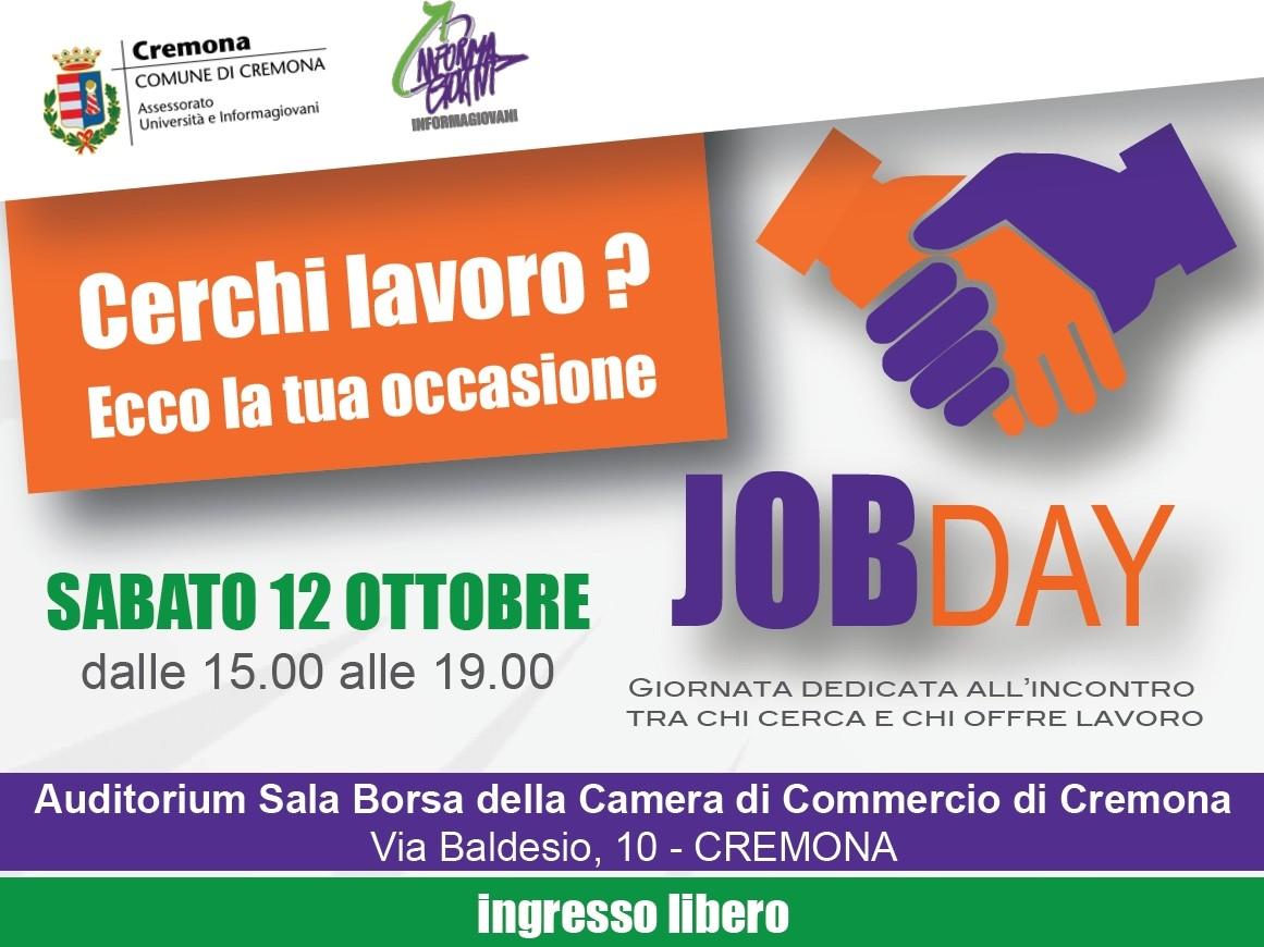 Job Day 2013 Offerte Di Lavoro Informagiovani