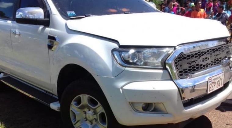 "comitiva Abdo lamenta que vehículo de su comitiva haya matado a comunicador: ""Nos duele"""