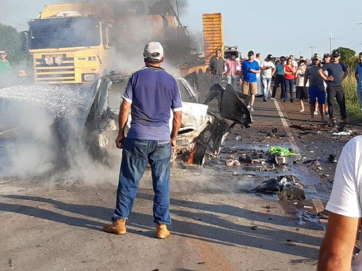 0009244831 Dos fallecidos y varios heridos; Saldo del accidente en San Patricio