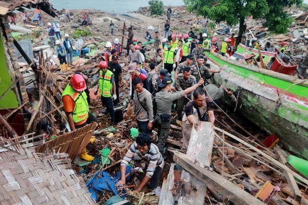 Extreme weather warning slows Tsunami recovery efforts