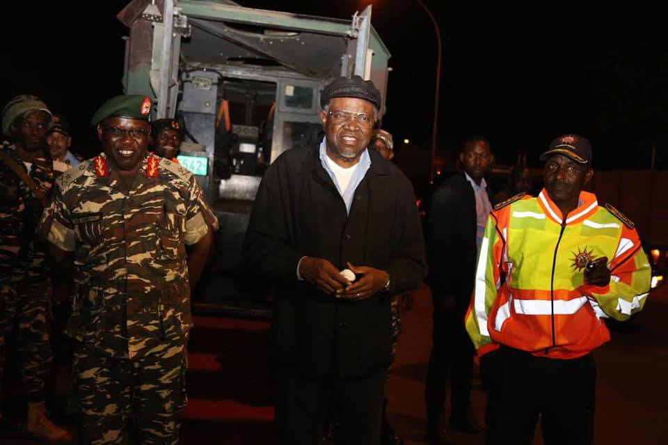 Historic first for Namibia as President joins fight against crime