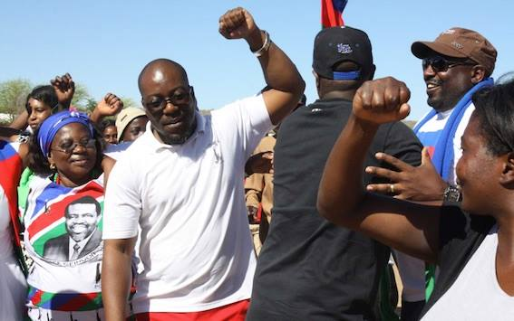 Battle lines drawn in Okahandja