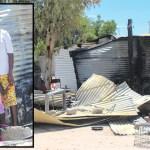 Oshakati family left homeless after fire