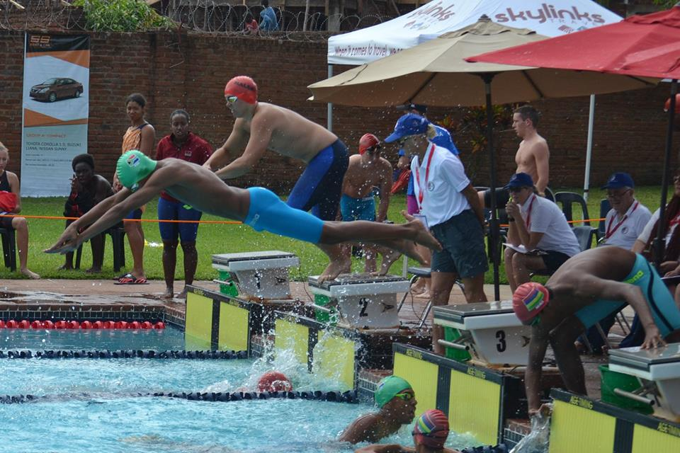 Namibia swimmers performs well CANA Zone IV event