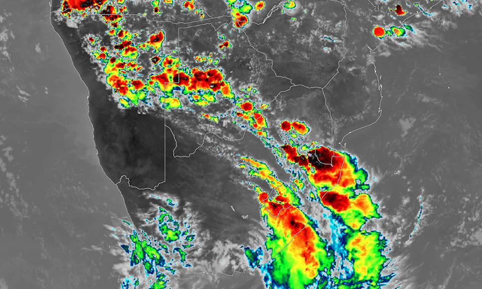 Sporadic thundershowers stay on the cards for Namibia