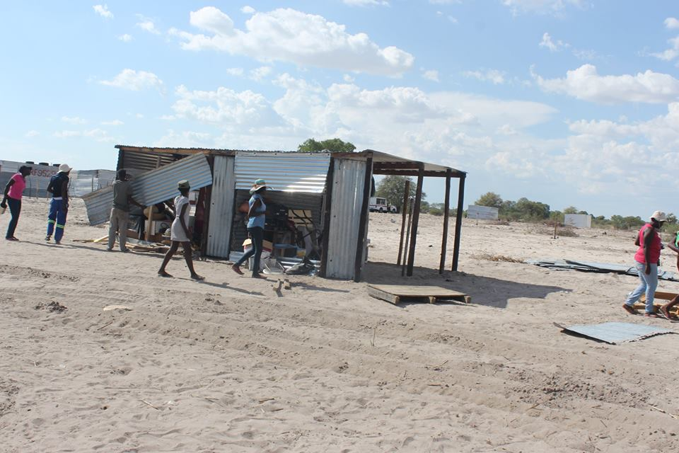 Town council silent as more shacks are demolished