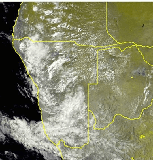 Some rain reported over certain parts of Namibia