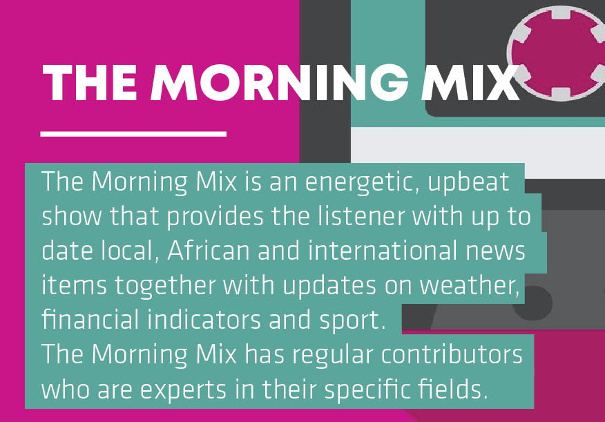 The Morning Mix A sound of the new age Informanté Radio