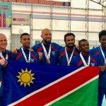 Karate Namibia secures third spot at Championships
