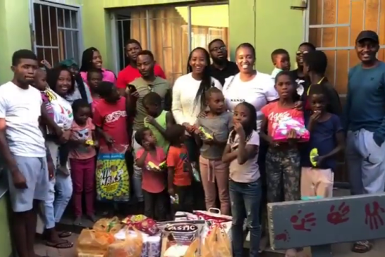 NANSO spends Africa Day with Katutura children