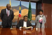 President signs Appropriation Bill into law