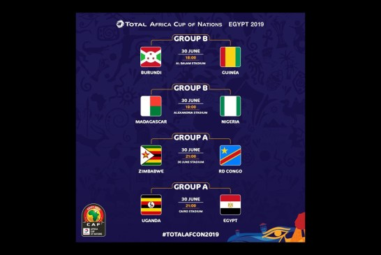 Third round of AFCON 2019 about to start