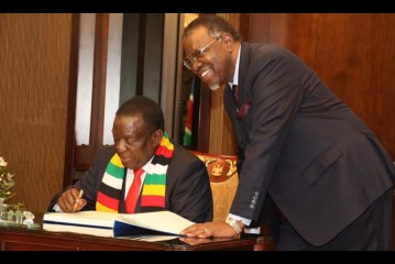 Namibia and Zimbabwe sign cooperation agreements