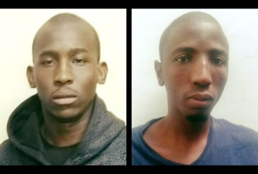 Police rounds up two escaped fugitives